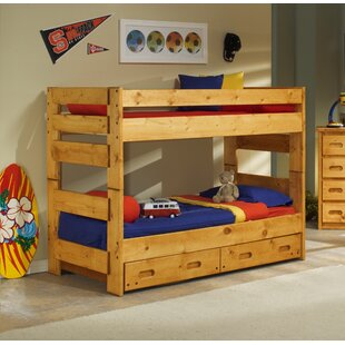 Harriet Bee Alerburry Twin Over Twin Bunk Bed with Trundle