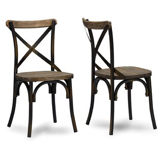Gracie Oaks Malley Side Chair (Set of 2)