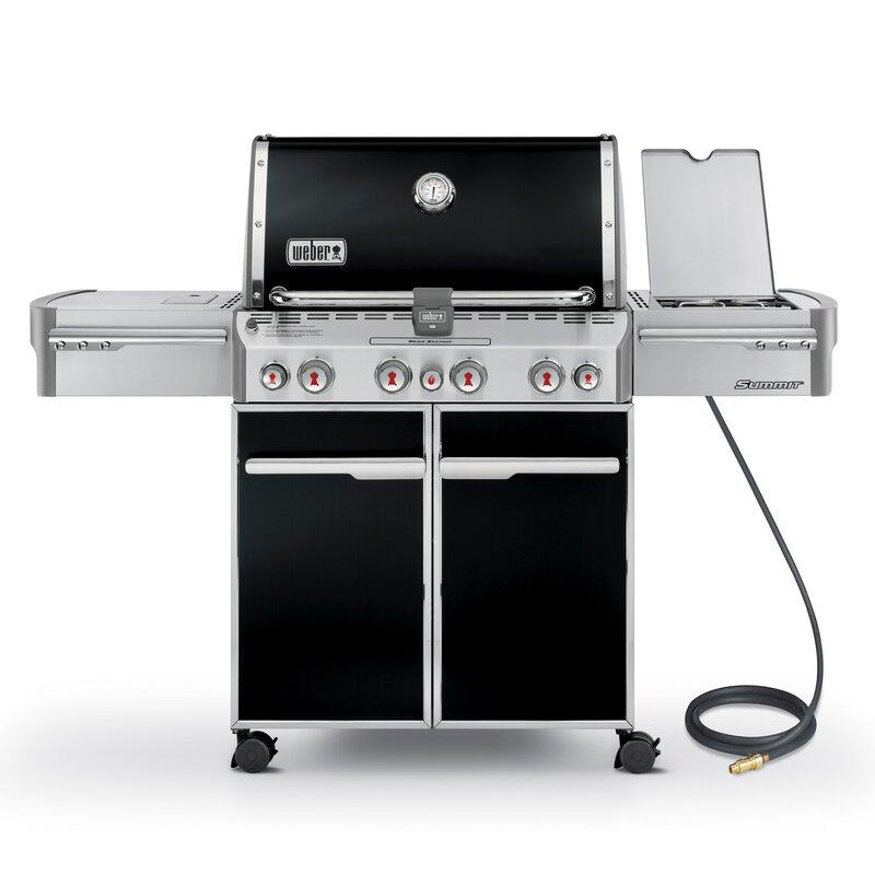 Summit® E-470 Gas Grill Black