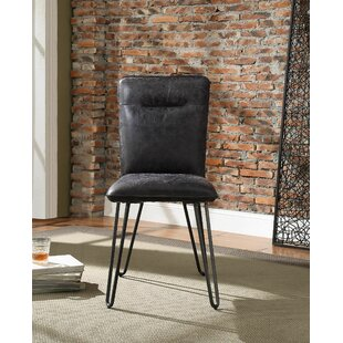Lotus Upholstered Dining Chair (Set of 2) 17 Stories