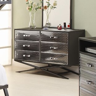 Spaced Out 6 Drawer Dresser by Woodhaven Hill