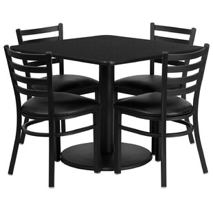 Lomonaco 5 Piece Dining Set by Winston Porter Modern