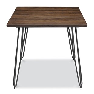 Dutton Solid Wood Dining Table Union Rustic