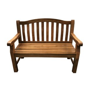Khalil Wooden Bench By Sol 72 Outdoor