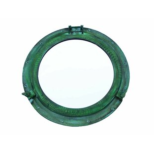 """Antique Brass Bronze Maritime Ship Porthole 15.5"""" Frame 12"""" Interior Keep You Fit All The Time Maritime"""