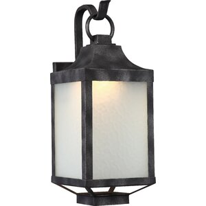 Saige 1-Light Outdoor Wall lantern