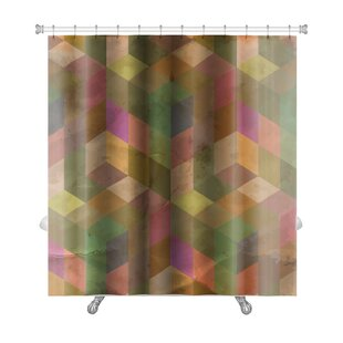 Delta Vintage Pattern Abstract Premium Shower Curtain by Gear New Cool