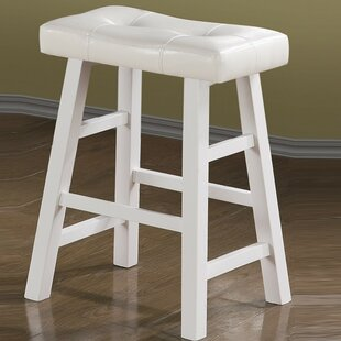 Paolini Rubber Wood Bar Stool (Set of 2) ..