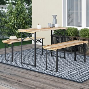 Segarra 3 Piece Picnic Bench Set By Sol 72 Outdoor
