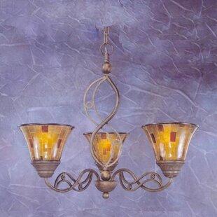 Thomason 3-Light Shaded Chandelier by Fleur De Lis Living
