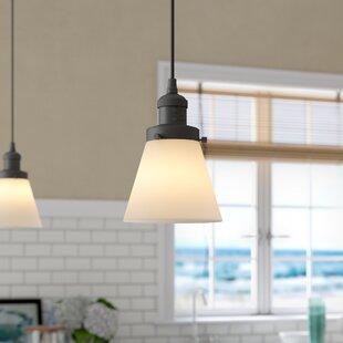 Pachna Glass Cone 1-Light Pendant
