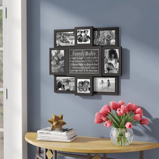 Mehara Family Rules 8 Slot 4 X 6 Picture Frame