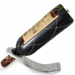 Luis Martinez Gallardo Gravity Weave 1 Bottle Tabletop Wine Rack