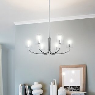 Check Prices Nicole 6-Light Shaded Chandelier By Brayden Studio