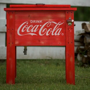 54 Qt. Coca-Cola Country Patio Cooler