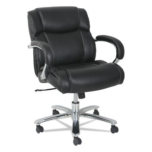 Otwell Big and Tall Genuine Leather Task Chair