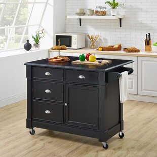 Pandora Kitchen Cart Ebern Designs