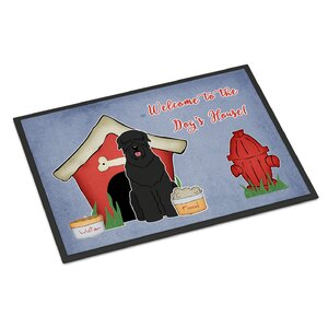 Dog House Russian Terrier Doormat