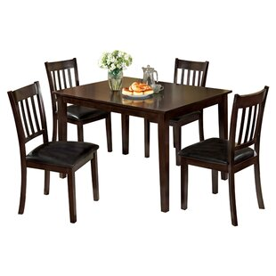 Lark 5 Piece Dining Set Hokku Designs