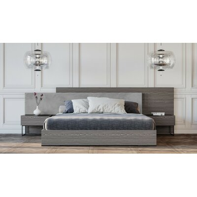 Mercury Row Muldowney Platform 3 Piece Bedroom Set Size: Queen