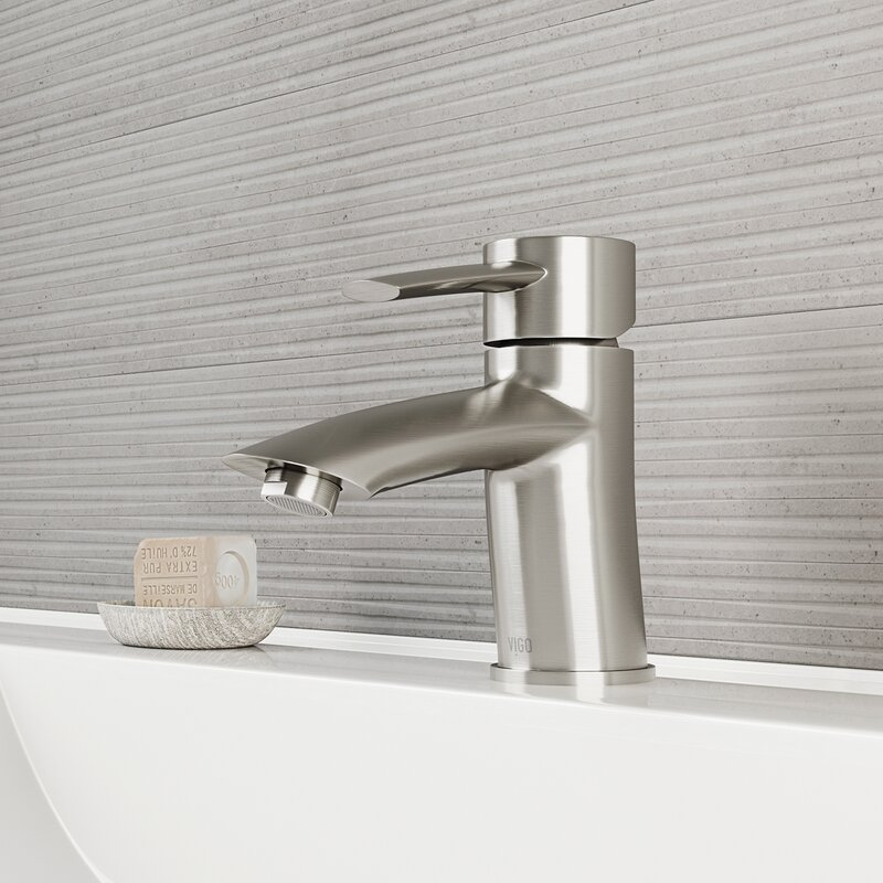 VIGO Bova Single Lever Basin Bathroom Faucet & Reviews   Wayfair