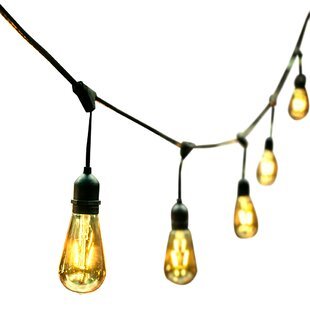 Price comparison 24-Light 48ft Globe String Lights By Ove Decors