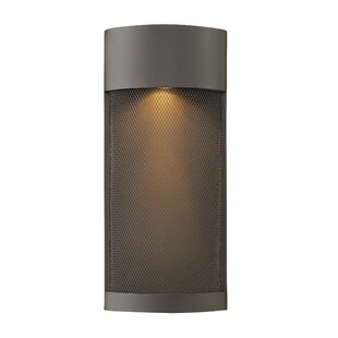 Read Reviews Proulx Modern 1-Light Outdoor Sconce By Brayden Studio