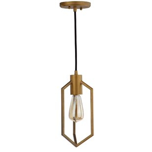 Venango 1-Light Geometric Pendant by Wade Logan