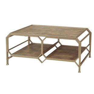 Laflamme Wood and Metal Coffee Table by Brayden Studio