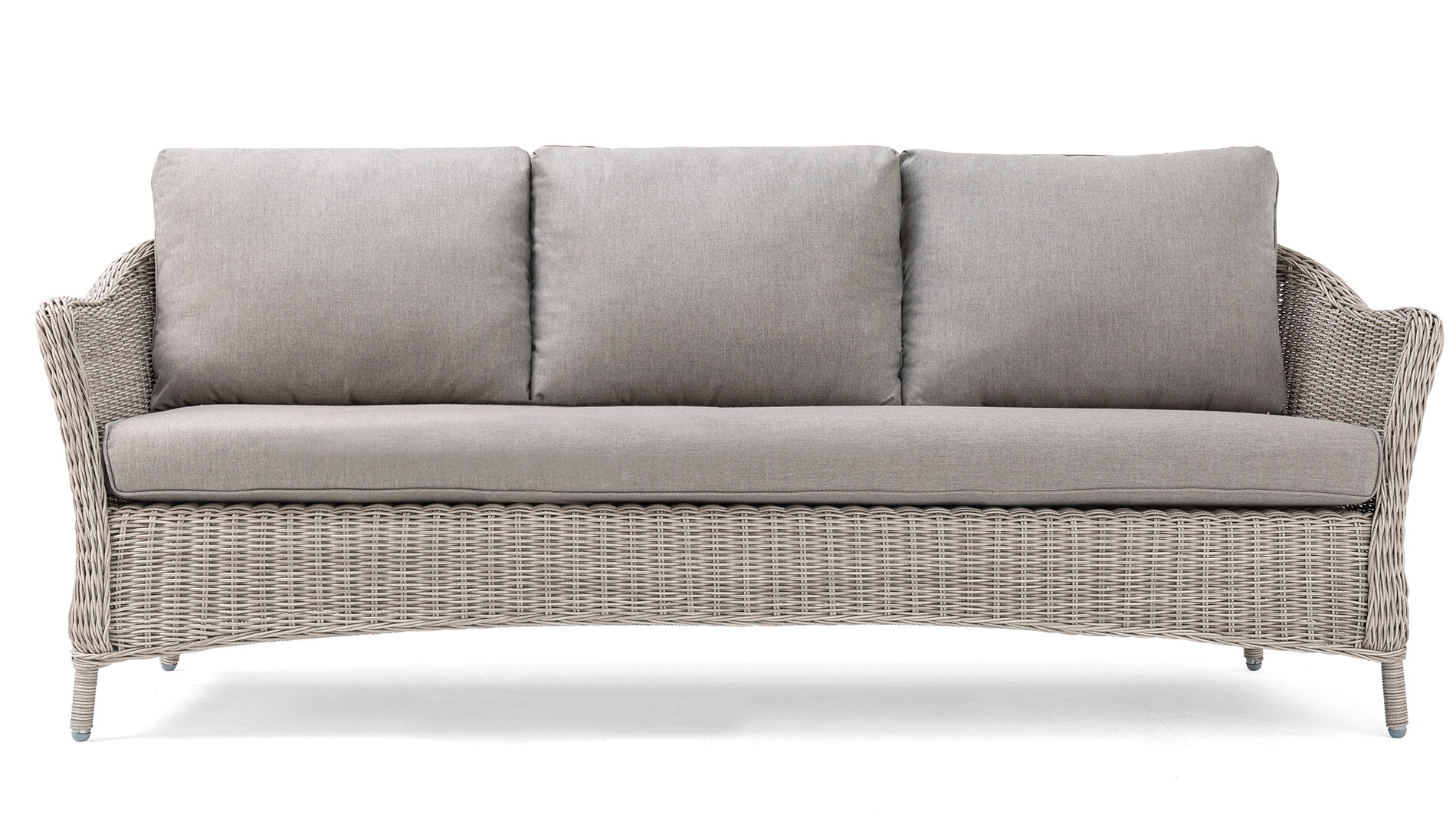 La Z Boy Laurel Patio Sofa With Sunbrella Cushions Wayfair