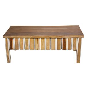 Teak Wood Coffee Table by Ibolili