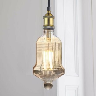 Reviews Christenson 1-Light Pendant By Williston Forge