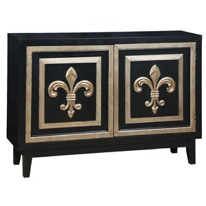 Fluer de Lis 2 Door Credenza by Pulaski Furniture