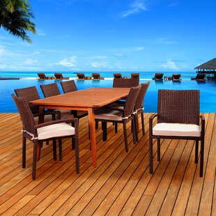 Beachcrest Home Arango 9 Piece..