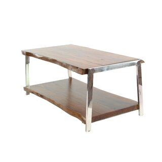 Althea Rustic Coffee Table with Magazine Rack by Foundry Select SKU:CB478569 Information