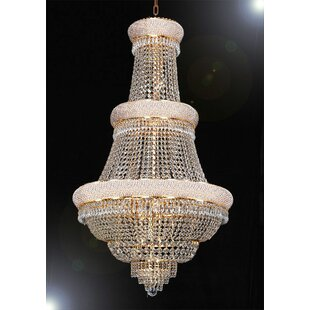 Stewart 21-Light Empire Chandelier by Rosdorf Park