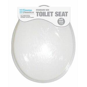 Soft Elongated Toilet SeatCushioned Toilet Seats You ll Love   Wayfair. Black Soft Toilet Seat. Home Design Ideas
