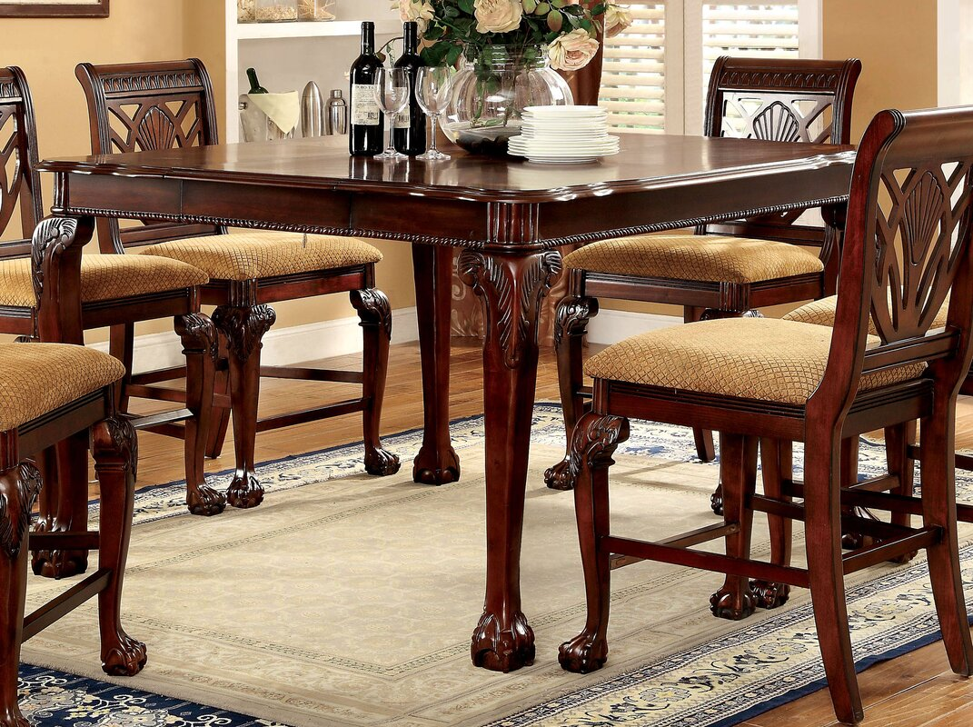 astoria grand coleman counter height dining table u0026 reviews wayfair
