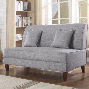 Miraculous Ebern Designs Dorsey Button Tufted Loveseat Ming Bannok27 Unemploymentrelief Wooden Chair Designs For Living Room Unemploymentrelieforg