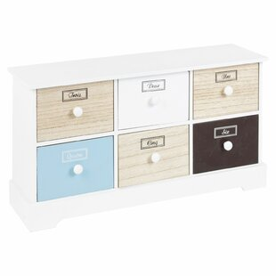 Wide 6 Drawer Chest By Symple Stuff