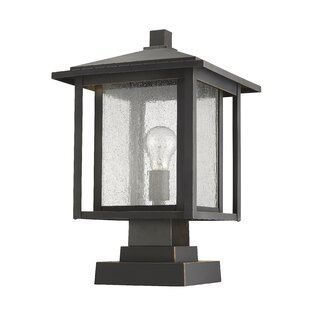 Hungate Outdoor 1-Light LED Pier Mounted Fixture