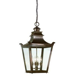Annett 4-Light Outdoor Hanging Lantern By Darby Home Co