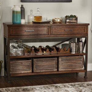 Bellefonte 6 Bottle Floor Wine Cabinet