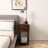Galena 1 - Drawer Nightstand in Brown by 17 Stories