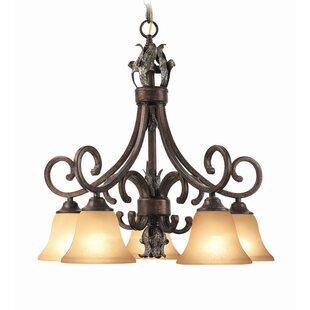 Astoria Grand Watlington 5-Light Shaded Chandelier