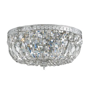 House of Hampton Milan 2-Light Flush Mount