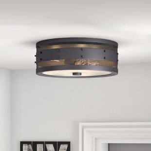 Trent Austin Design Denver 3-Light Flush Mount