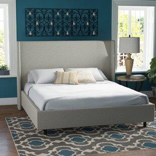Settles Upholstered Panel Bed by Brayden Studio