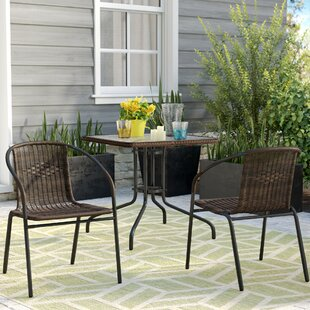 Zipcode Design Nathaniel 3 Piece Bistro Set