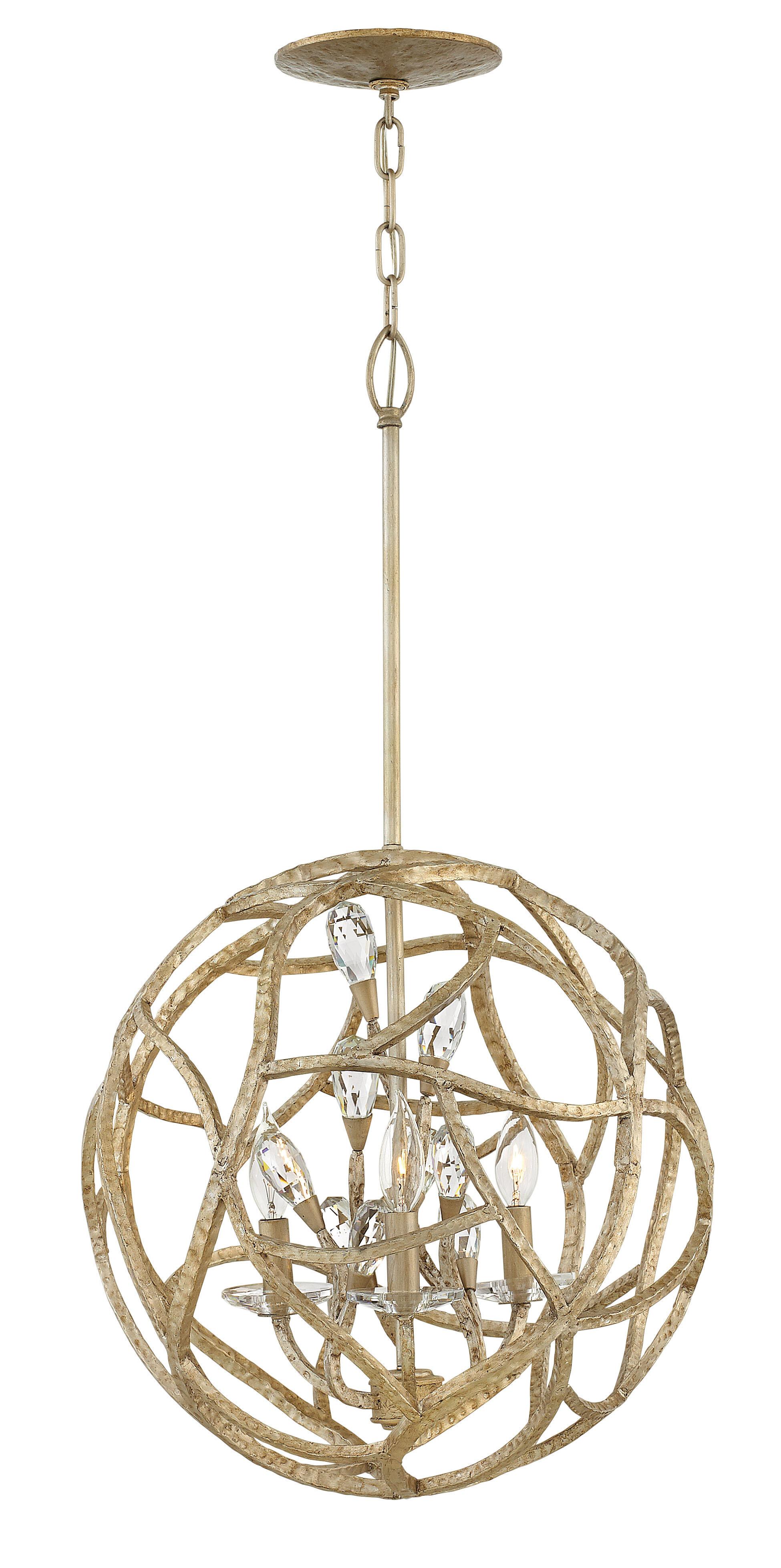 Rosdorf Park St James 3 Light Candle Style Globe Chandelier Wayfair